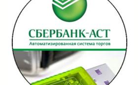 Подача заявки на Сбербанк-АСТ